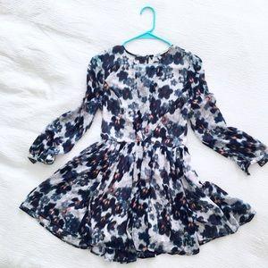 KIMCHI BLUE floral mini dress size 0
